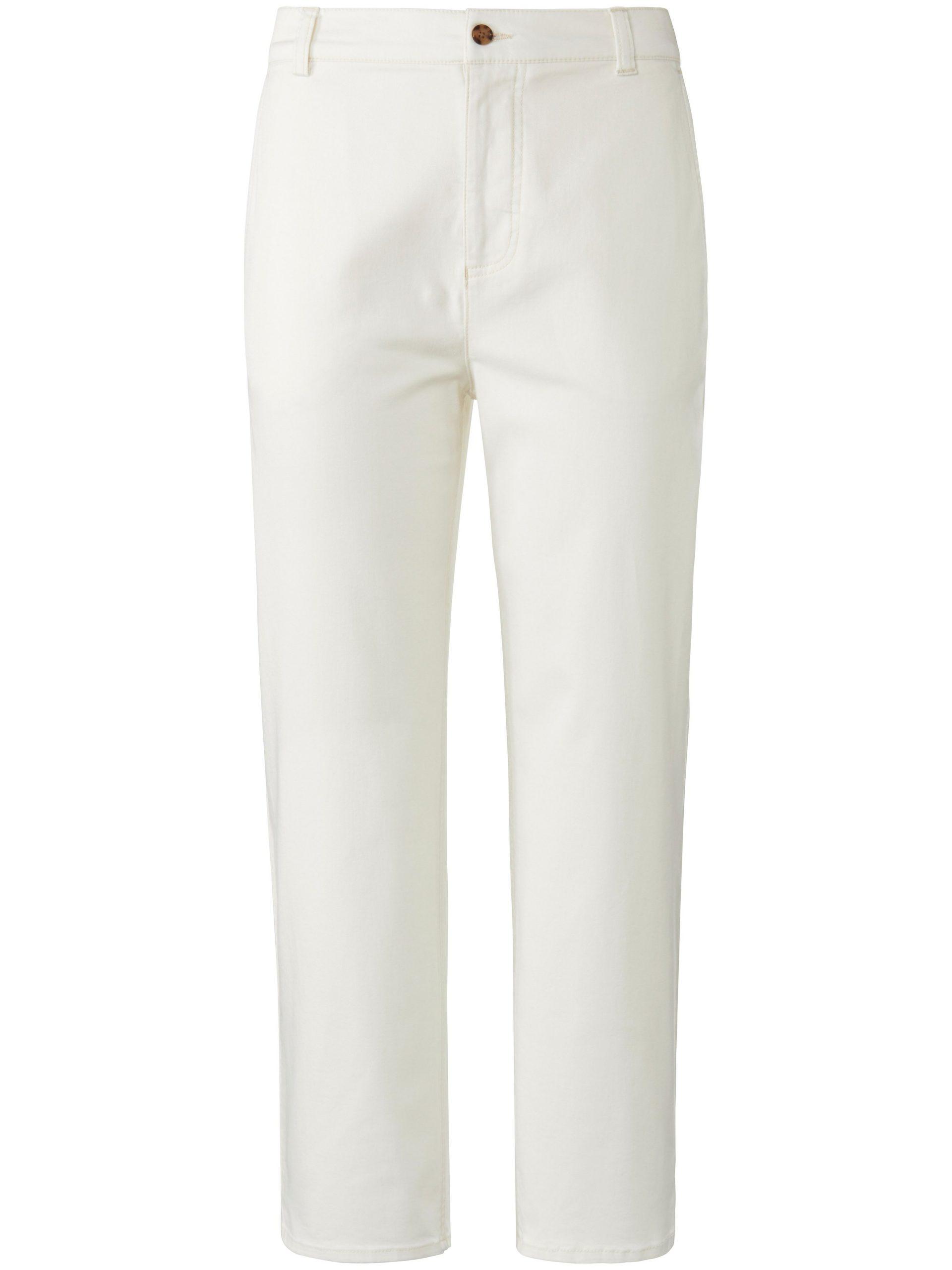 7/8-Slim Fit-broek elastische tailleband Van DAY.LIKE wit Kopen
